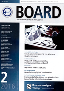 Herausforderung Digitale Transformation in BOARD
