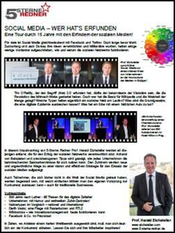 5-Sterne-Redner_Prof_Eichsteller_Thema Social Media